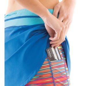 Moving Comfort Sprint Tech Skort   Skirt Blue